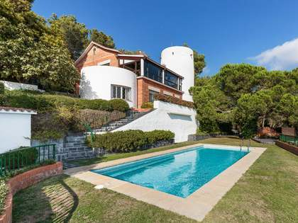 House with incredible views for sale in Barcelona