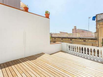 34 m² penthouse with 74 m² terrace for sale in Gracia