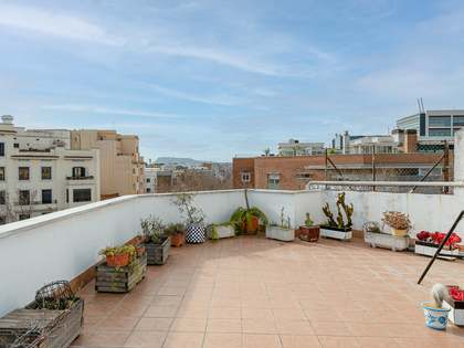 145m² Penthouse with 96m² terrace for sale in Poblenou