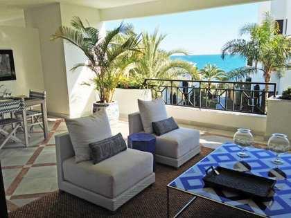 Luxury 2-bedroom beachfront apartments for sale in Estepona