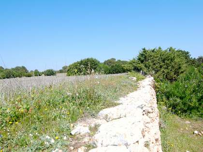 Sea view plot with project for sale in Formentera