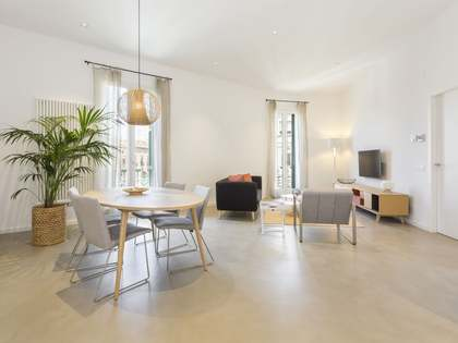 Renovated 2-bedroom apartment to rent in Eixample, Barcelona