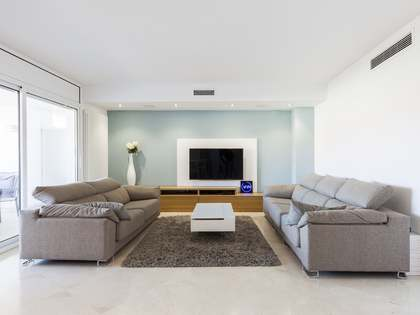 220 m² penthouse with 70 m² terrace for sale in Sitges