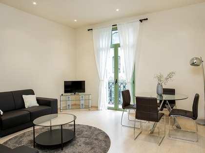 Квартира 85m² аренда в Правый Эшампле, Барселона