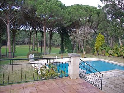 Frontline golf property for sale in Santa Cristina d'Aro