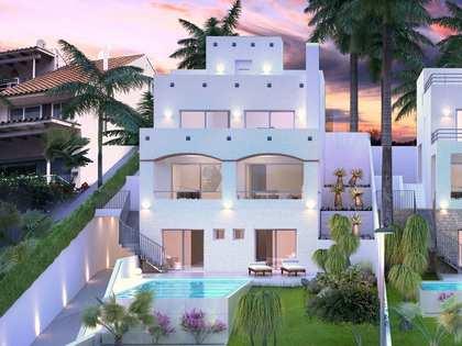 Casa ibicenca de obra nueva en venta en Vallpineda