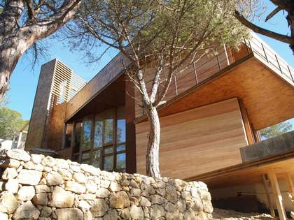 3-storey eco-home for sale in Olivella, near Sitges