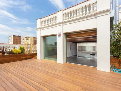117 m² apartment with 68 m² terrace for sale in Gracia