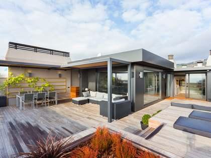 Ático dúplex de 290m² con terraza en alquiler en Tres Torres