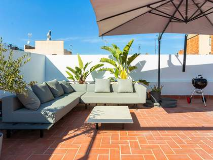 Penthouse van 79m² te koop met 104m² terras in El Raval