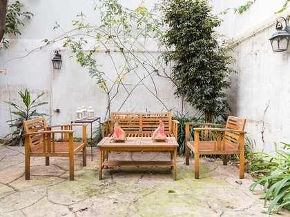 Квартира 122m², 24m² Сад аренда в Левый Эшампле, Барселона