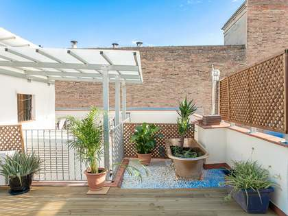 54m² Apartment with 51m² terrace for sale in Gótico