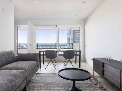 Appartement van 110m² te huur met 25m² terras in Diagonal Mar