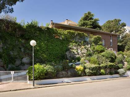 Well built  family home for sale in Alella on the Maresme Coast