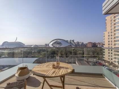 Appartement van 90m² te huur met 7m² terras in Ciudad de las Ciencias