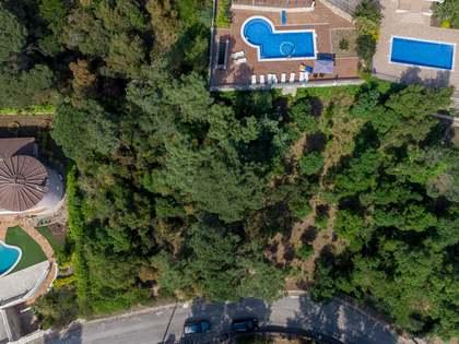 Parcel·la de 780m² en venda a Lloret de Mar / Tossa de Mar