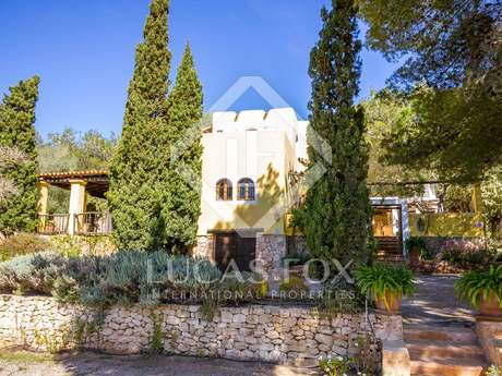 Wonderful house for sale in a quiet area of San José, Ibiza