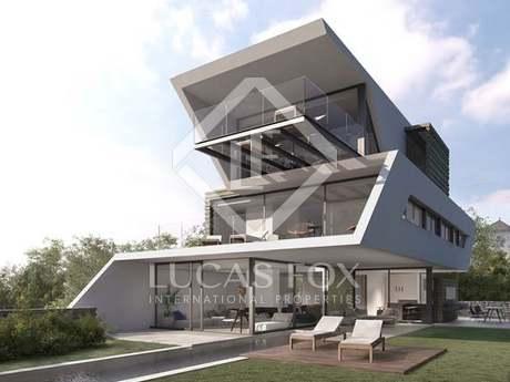 Casa de diseño en venta en Sant Cugat, cerca de Barcelona