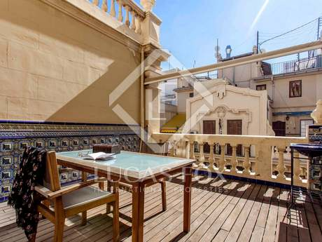 Exclusive Modernista penthouse for sale in Valencia centre