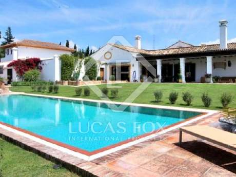 Prestigious equestrian property for sale near Sotogrande