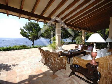 First line villa for sale Costa de Los Pinos, Mallorca