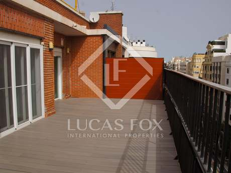 Beautiful, spacious penthouse for rent in Valencia centre