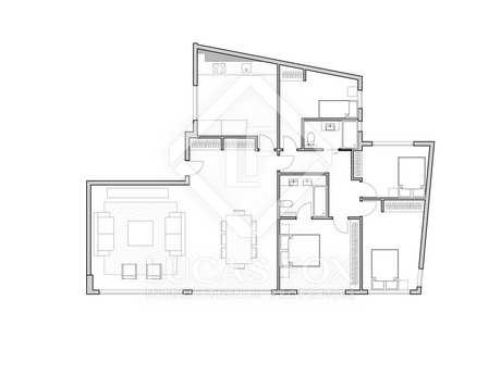 158m² Lägenhet till salu i El Pla del Remei, Valencia