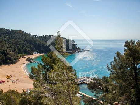 Costa Brava villa under construction to buy, Cala Canyelles