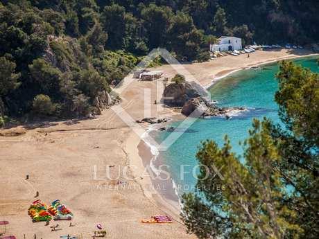 Costa Brava villa under construction to buy, Cala Canyelles
