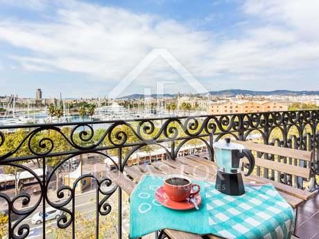 Apartamento de 2 dormitorios en alquiler en la Barceloneta
