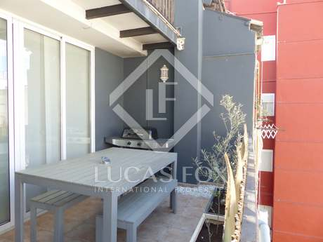 Ático dúplex tipo loft renovado en venta en Ruzafa