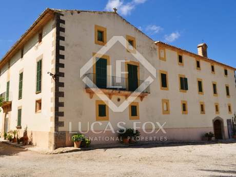 Country estate for short-term rental in south Mallorca