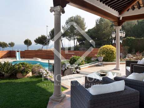 Property for sale in Alella on the Maresme Coast