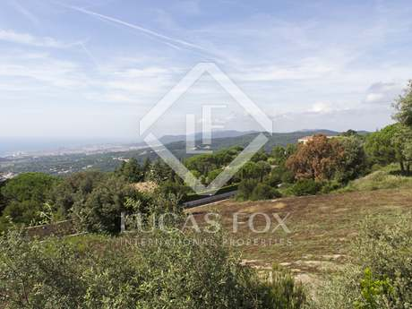 Building plot for sale in Supermaresme on the Maresme Coast
