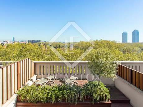 48m² penthouse with terrace for sale in El Born