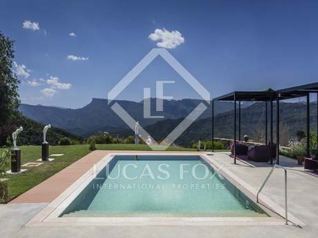 Luxury Girona country property to buy in La Garrotxa