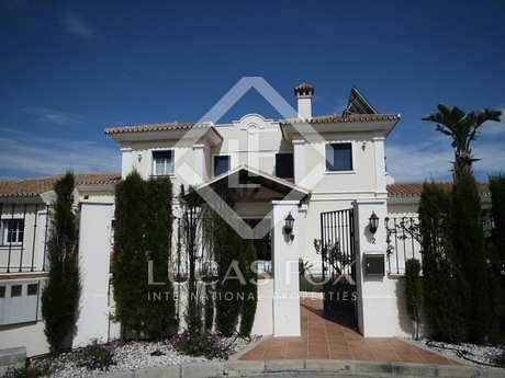 Luxury 5 bed villa for sale in La Mairena, East Marbella.
