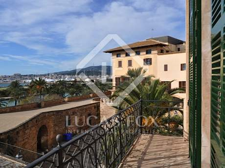Beautiful historic apartment for sale in Palma, Mallorca.