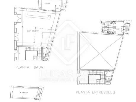 Apartment building to renovate in Palma, Mallorca