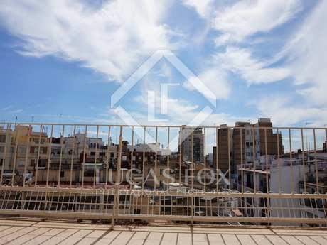 185m² apartment with 20m² terrace for sale in Ruzafa