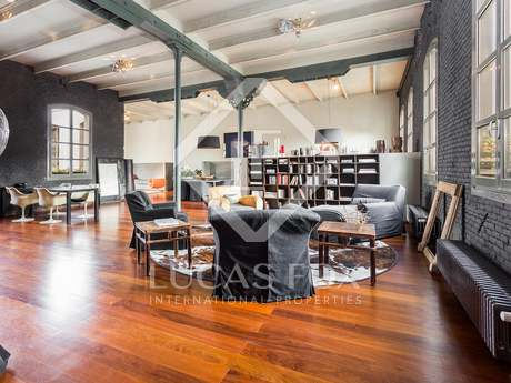 Loft apartment for rent in Barcelona old town