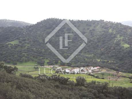 Beautiful 700ha equestrian estate for sale north of Seville