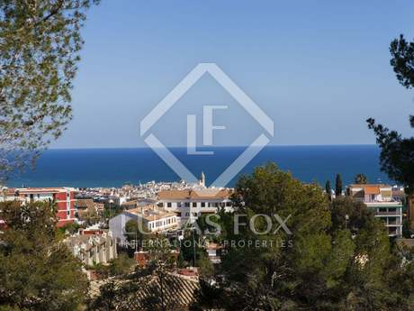 Building plot for sale in Vallpineda, Sitges with sea views