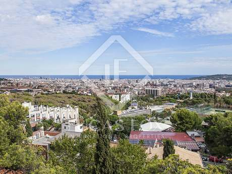Plot to build a luxury home located in Tres Torres, Barcelona