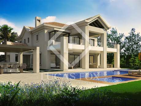 Brand new luxury villa for sale in Golden Mile, Marbella