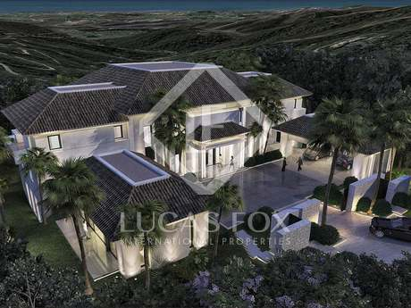 Villa under construction for sale in La Zagaleta, Marbella