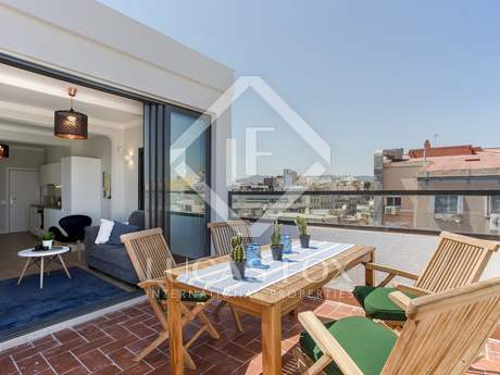 45m² apartment with 20 m² terrace for sale in Eixample Left