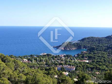 Costa Brava building plot to buy. Begur land for sale