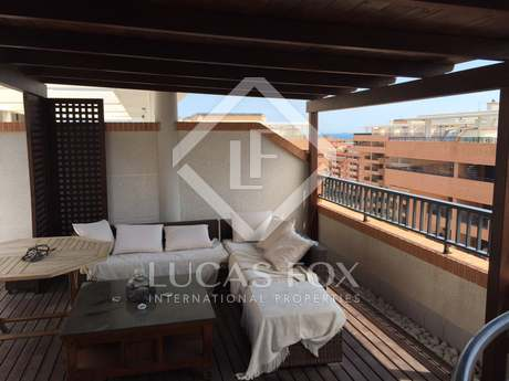Duplex penthouse for sale in Playa Patacona, Valencia