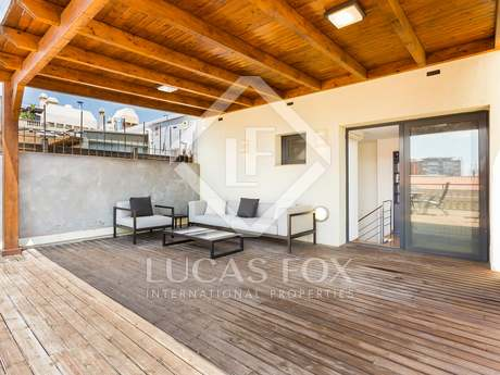 Duplex penthouse for sale in Sant Gervasi - La Bonanova